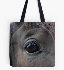 Self Portrait in a Horse's Eye Tote Bag