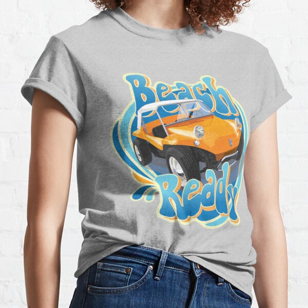 Beach ready buggy in orange Classic T-Shirt