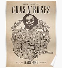 Guns N' Roses  NotInThisLifetime October 23, 2017 Hartford XL Center Poster