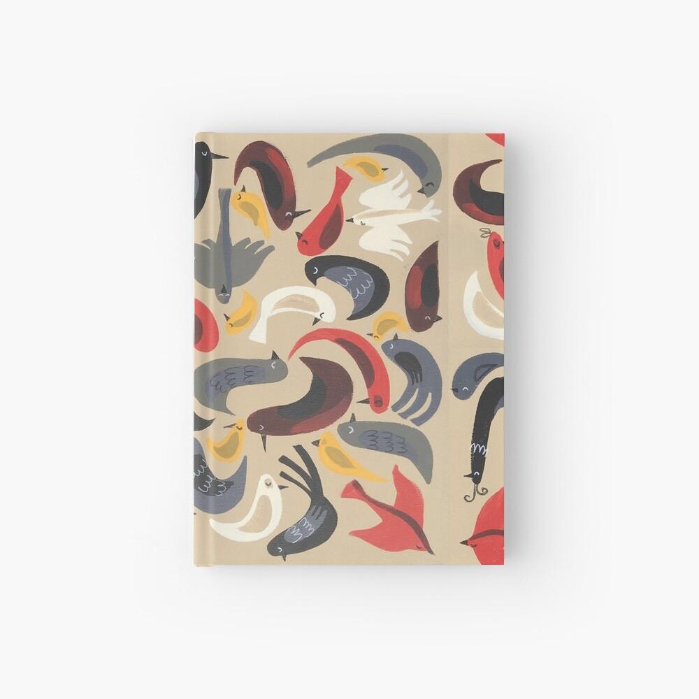 Birdie Collage Hardcover Journal