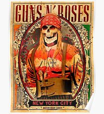 Guns N' Roses - New York City, October 15, 2017 Poster