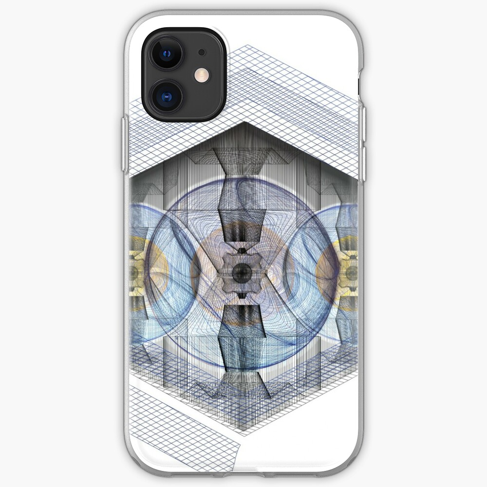 Wire Nuclear Eye iPhone Case & Cover