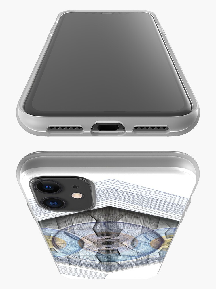 Alternate view of Wire Nuclear Eye iPhone Case & Cover