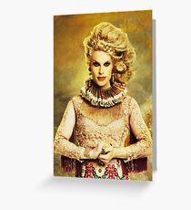 Queen Katya Zamolodchikova Greeting Card