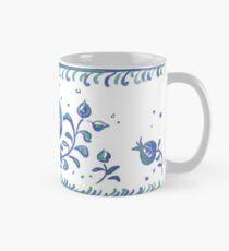 Granada Pottery - Albayzin Style - Symbol of Life, Love & Luck Taza