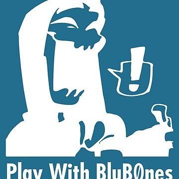 Original BluB0nes Logo W by Blub0nes