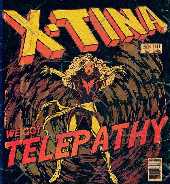 Xtina Telepathy by guirodrigues