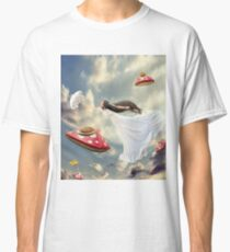 Woman dreaming Classic T-Shirt