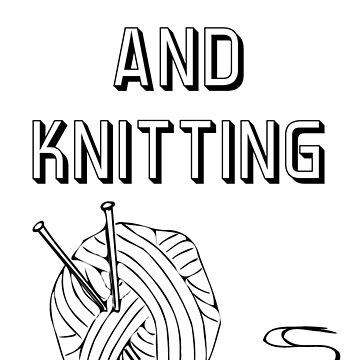Netflix and knitting by Asrais