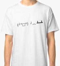 Rage ASCII - Table Flip Classic T-Shirt
