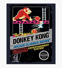 DONKEY KONG NES COVER Photographic Print