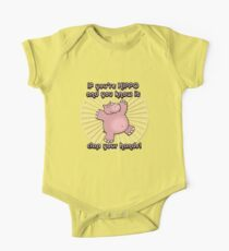 Hippo Humor Kids Clothes