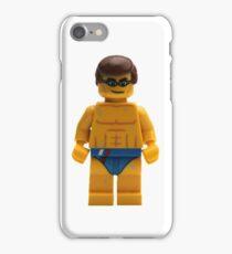 LEGO Swimmer iPhone Case/Skin