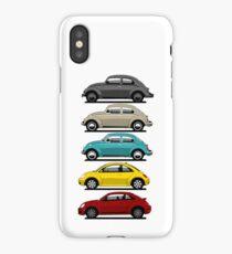 VW Beetle evolution iPhone Case/Skin