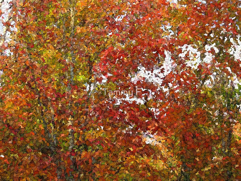 Fall Mosaic #4 by Tammy F