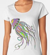 Electric Jellyfish Women's Premium T-Shirt
