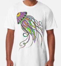 Camiseta larga Medusa eléctrica