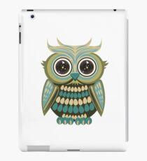 Star Eye Owl - Green 2 iPad Case/Skin