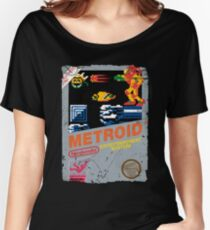 METROID NES GAME COVER Women's Relaxed Fit T-Shirt