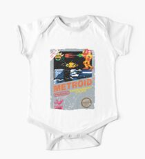 METROID NES GAME COVER Kids Clothes