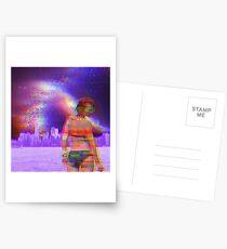 Glitch Portrait Postcards
