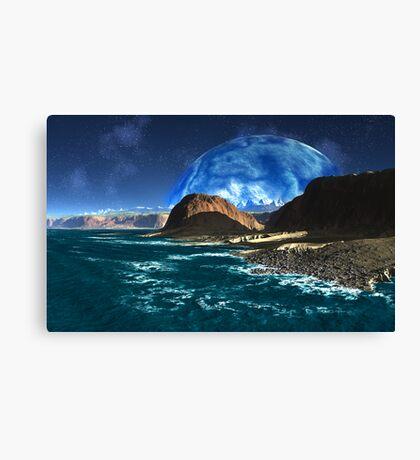 Blue Moon Bay Canvas Print