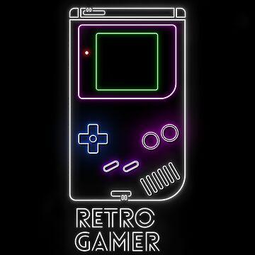 Retro Gamer by AlanBaoArt