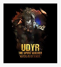 League of Legends UDYR - The Spirit Walker Photographic Print