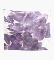 Purple Blooming Wall Tapestry