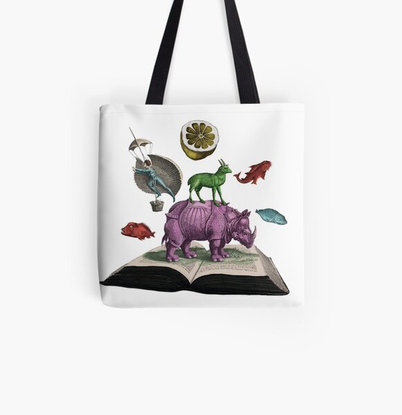 State Library Victoria  All Over Print Tote Bag