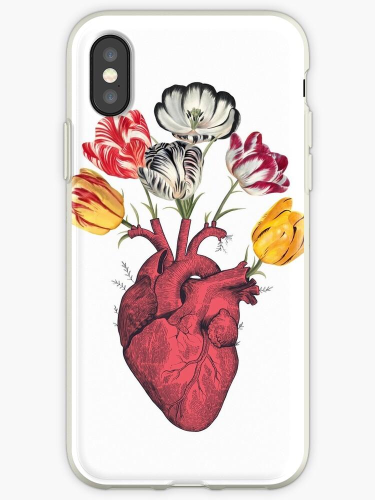 Heart with tulips by Valeriya Korenkova Kodamorkovkart
