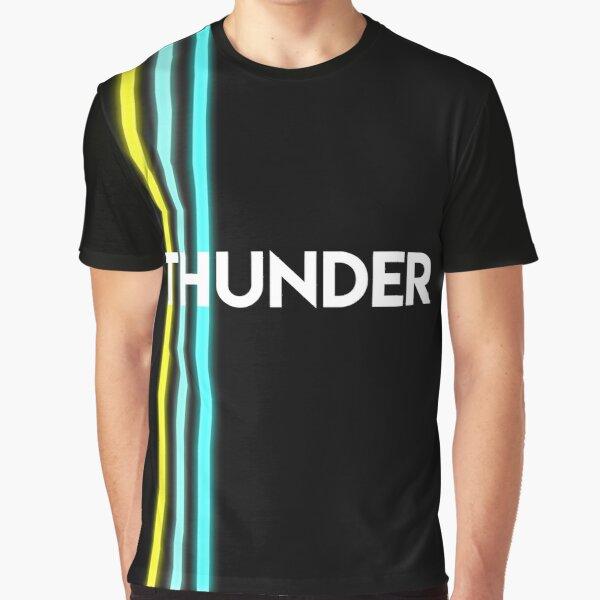 THUNDER - Stellen Sie sich Drachen vor Grafik T-Shirt