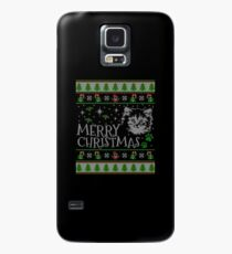 Cute Maine Coon Christmas Cat Santa Claus Gift For Christmas Cat Maine Coon T-Shirt Sweater Hoodie Iphone Samsung Phone Case Coffee Mug Tablet Case Case/Skin for Samsung Galaxy