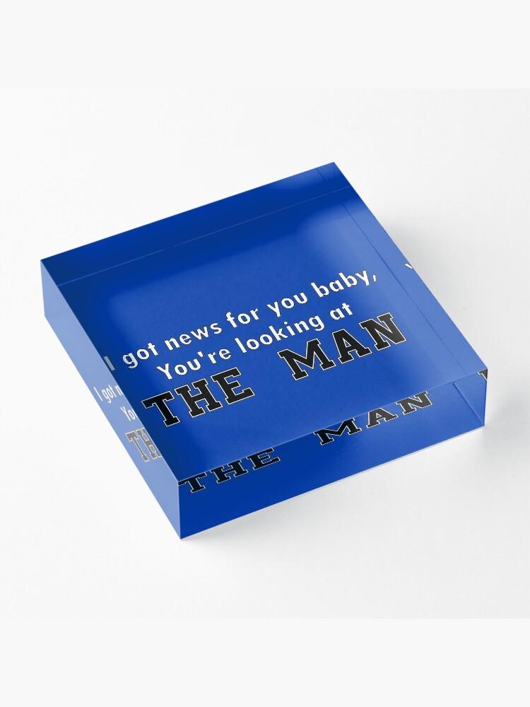Alternative Ansicht von Der Mann Acrylblock