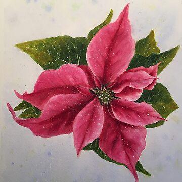 Poinsettia by ArtbyDedeConrad