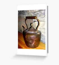 Copper Kettle Greeting Card