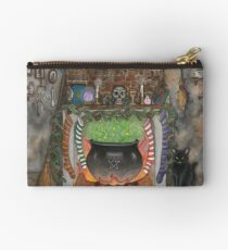 Witches Christmas Kitchen Studio Pouch