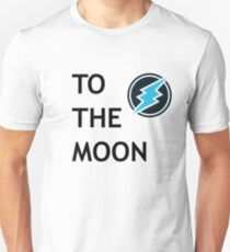 To The Moon Electroneum Slim Fit T-Shirt