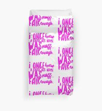 I once knew a fairy.. Duvet Cover