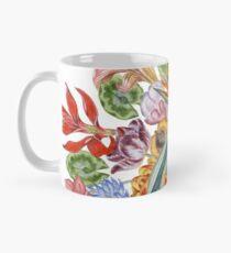 Botanical Watercolor Peacock  Mug