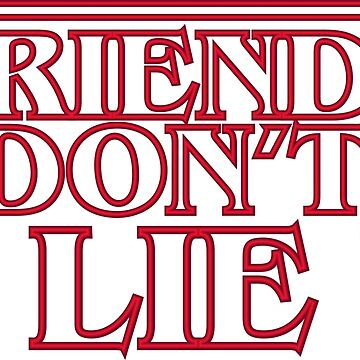 Friends don't lie by AMDY