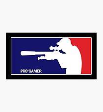 Pro-Gamer Photographic Print