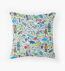 TOYS - fun pattern by Cecca Designs Floor Pillow