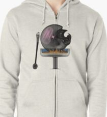 the consumption of dissonance Zipped Hoodie