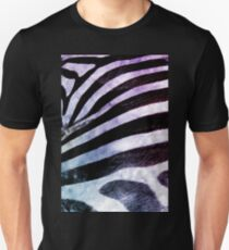 Zebra watercolor animal print T-Shirt