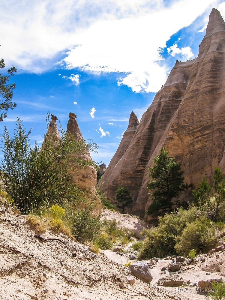 tent rocks 6 by Bruce  Dickson