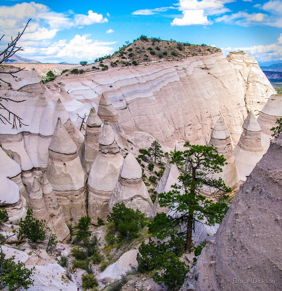 tent rocks 4 by Bruce  Dickson