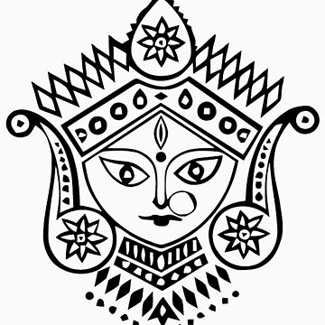 Hindu Godess by Glimps