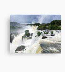 Edge of Iguazu Falls - Puerto Iguazu, Argentina Canvas Print