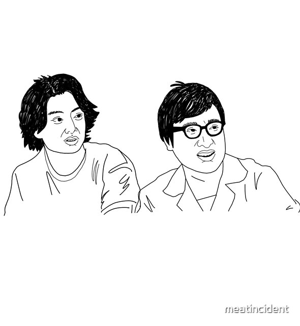 Kentaro and Ryota by meatincident
